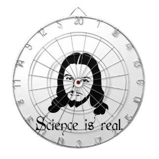 Science is real. Even Jesus says so. Funny gifts Dart Boards