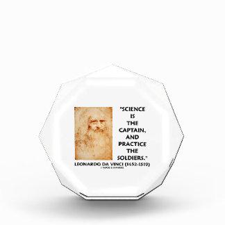 Science Is The Captain Practice Soldiers da Vinci Awards