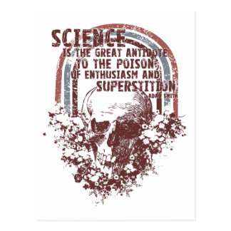 Science is the Great Antidote Postcard
