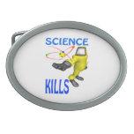 Science Kills Belt Buckles