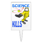 Science Kills Cake Toppers
