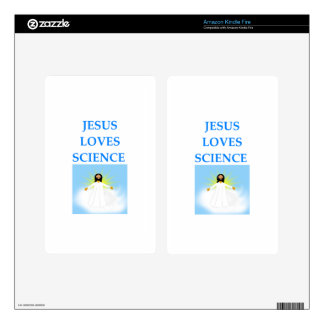 SCIENCE KINDLE FIRE DECALS