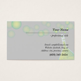 science, lab, chemistry scientists, researcher business card