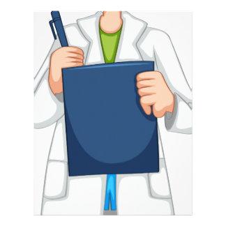 Science lab letterhead