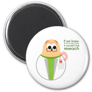 Science Lab Researcher Magnet