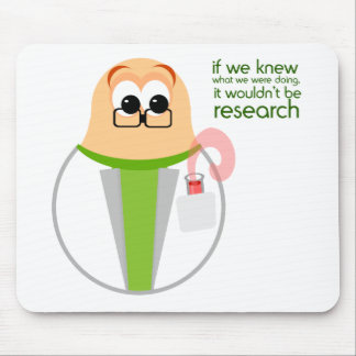 Science Lab Researcher Mousepad