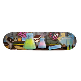 Science Laboratory Skateboard