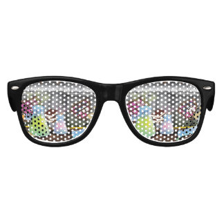 Science Laboratory with experiments bubbling Kids Sunglasses