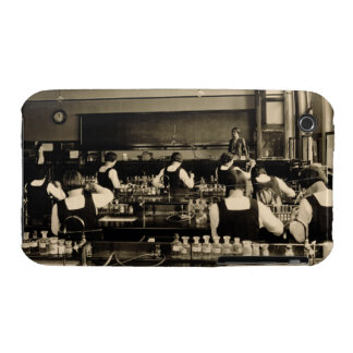 Science Lesson at the London Grammar School for Gi iPhone 3 Case