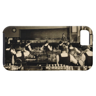 Science Lesson at the London Grammar School for Gi iPhone SE/5/5s Case
