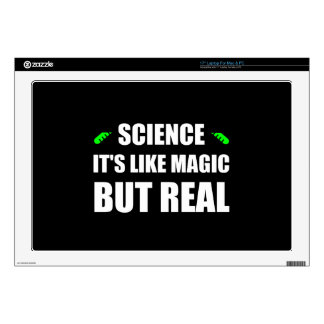 Science Like Magic But Real Skin For Laptop