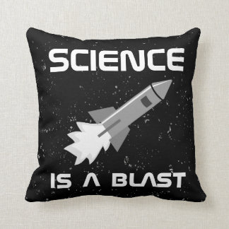Science Lover Pillow Rocket Science is a Blast Pun