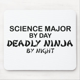 Science Major Deadly Ninja Mouse Pad