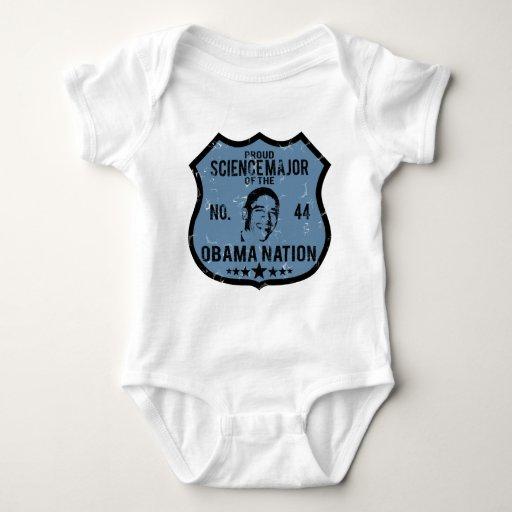 Science Major Obama Nation Baby Bodysuit