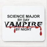 Science Major Vampire by Night Mouse Pad