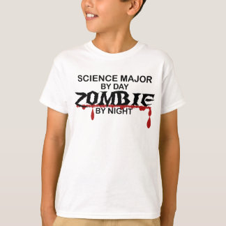 Science Major Zombie T-Shirt