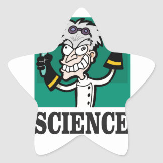 science man of the year star sticker