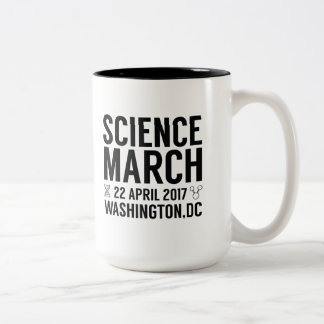 Science March Two-Tone Coffee Mug