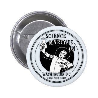 Science Marches On Button