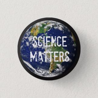 Science Matters 1-1/4 inch Mini Button. Button