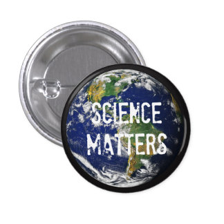Science Matters 1-1/4 inch Mini Button. Button
