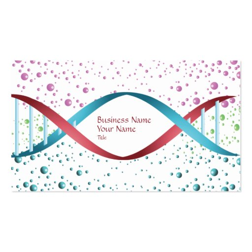 Science Medicine Business Card
