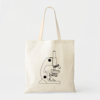 Science Microscope Canvas Bags