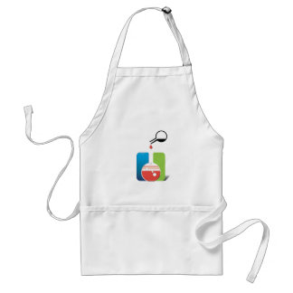 science - mixing chemicals adult apron