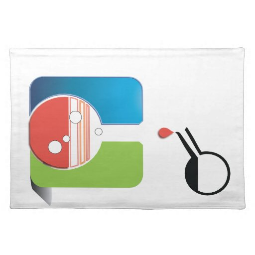science - mixing chemicals cloth placemat