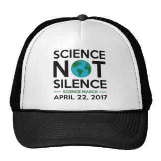 Science Not Silence Trucker Hat