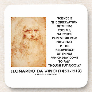 Science Observation Things Possible Prescience May Coaster