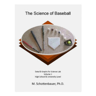 Science of Baseball (Cover Art) Postcard