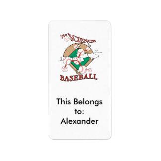 science of baseball molecular graphic label