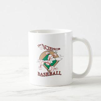 science of baseball molecular graphic coffee mug