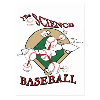 Science of Baseball Postcard