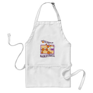 science of basketball apron