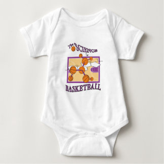 science of basketball baby bodysuit
