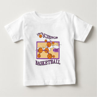 science of basketball baby T-Shirt