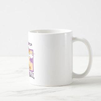 science of basketball coffee mug
