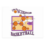 science of basketball postcards