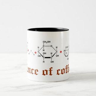 science of coffee Two-Tone coffee mug