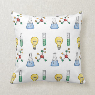 Science of Life Throw Pillow