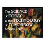 Science of today, Technology of tomorrow Postcard