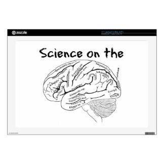 "Science on the Brain 17"" Laptop Decals"