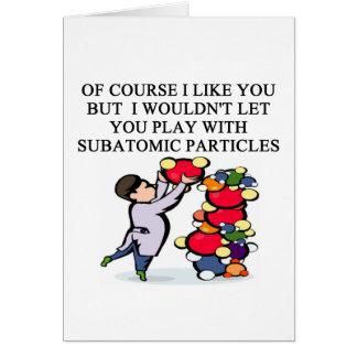 SCIENCE physics design Card