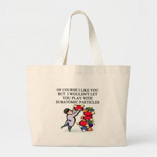 SCIENCE physics design Jumbo Tote Bag