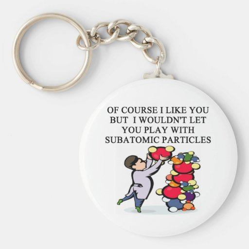 SCIENCE physics design Key Chains