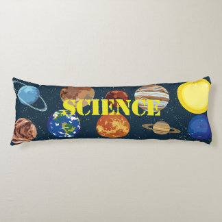 Science Planetary Space Body Pillow