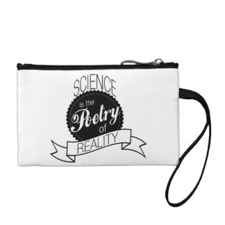 Science- Poetry of Reality Coin Wallet