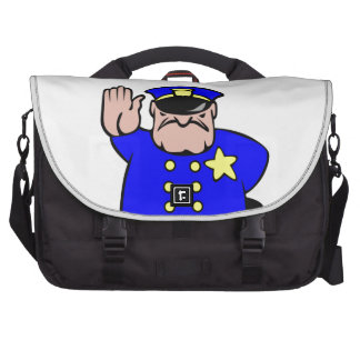 science police bag for laptop